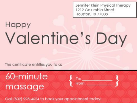 Gift certificates are now available and can be emailed to you for convenience. For more information about John Paul, our massage therapist, please click ...